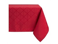 Briscoes NZ Essential Collection Millie Red Tablecloth 130x180cm