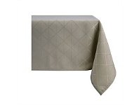 Briscoes NZ Essential Collection Millie Taupe Tablecloth 150x230cm