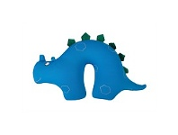 Briscoes NZ Hopscotch Dinosaur Travel Pillow Blue
