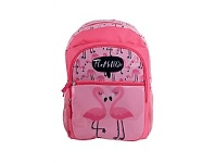 Briscoes NZ Hopscotch Flamingo Backpack Pink