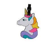 Briscoes NZ Hopscotch Unicorn Luggage Tag White