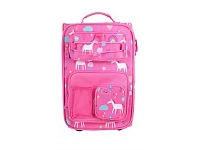 Briscoes NZ Hopscotch Soft Cabin Trolleycase Unicorn Pink 50cm