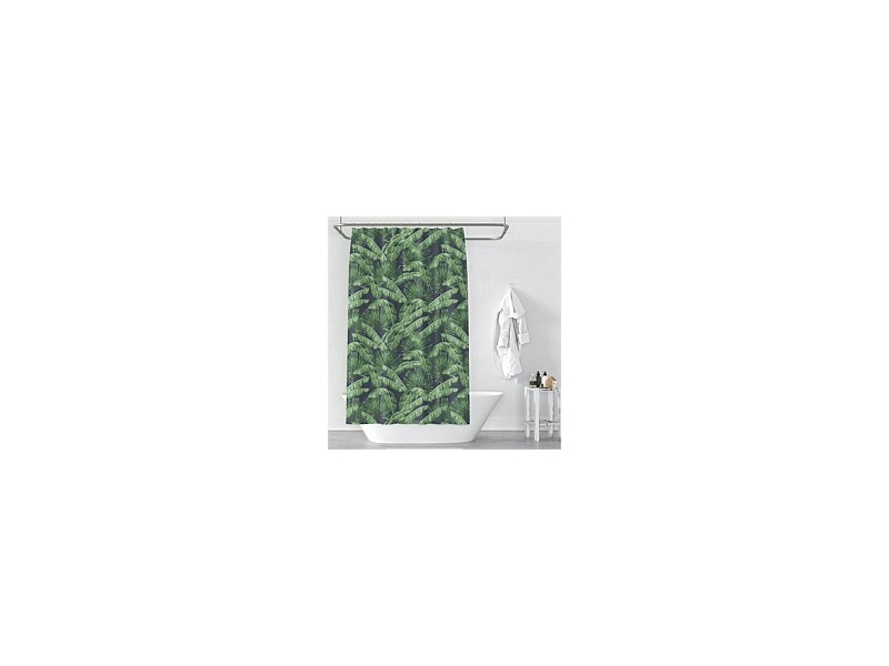 Cloud9 Jungle Pamls Shower Curtain 180x180cm