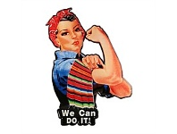 Briscoes NZ We Can Do It Iron Wall Plaque 42x58cm