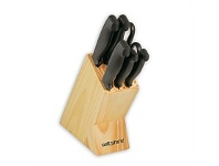 Briscoes NZ Wiltshire Laser Edge Knife Block Set 7 Piece