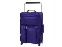 Briscoes NZ International Traveller Ultimate Trolleycase Purple 55cm
