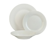 Briscoes NZ Tablefair White Value Pack Dinnerset 12pc