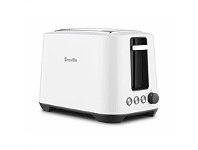 Briscoes NZ Breville the Lift & Look Toaster 2 Slice White BTA360WHT