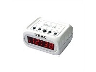 Briscoes NZ Teac CX02 White Alarm Clock
