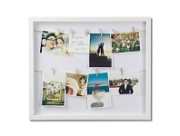 Briscoes NZ Umbra White Clothesline Photo Frame