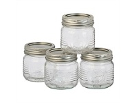 Briscoes NZ Old Fashion Preserving Jar 250ml Set 4