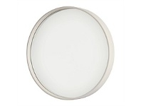 Briscoes NZ Round Wall Mirror White Pine 35cm