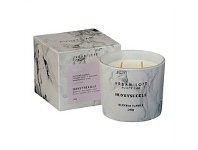 Briscoes NZ Urban Loft Purity Lab Marble Finish Candle White 240g