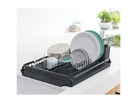 Briscoes NZ Brabantia Dish Rack Black