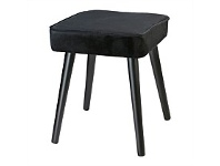 Briscoes NZ Koopman Soft Touch Stool Black Square