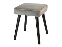 Briscoes NZ Koopman Soft Touch Stool Grey Square