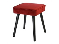 Briscoes NZ Koopman Soft Touch Stool Red Square