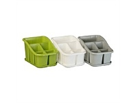 Briscoes NZ Koopman Cutlery Drainer With Drip Tray Assorted