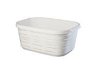 Briscoes NZ Mazzei Signature Laundry Basket Whitete 50 Litre
