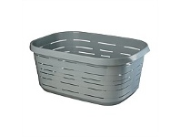 Briscoes NZ Mazzei Signature Laundry Basket Blue 50 Litre