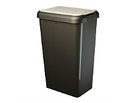 Briscoes NZ Tontarelli Tilt & Lift Refuse Bin Graphite 45 Litre
