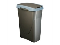 Briscoes NZ Mazzei Eco Swing Refuse Bin Blue 25 Litre