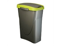 Briscoes NZ Mazzei Eco Swing Refuse Bin Green 25 Litre