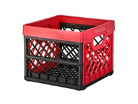 Briscoes NZ Tontarelli Folding Crate Red 25 Litre