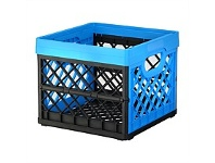 Briscoes NZ Tontarelli Folding Crate Blue 25 Litre