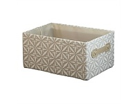 Briscoes NZ Chieti Storage Box Beige Small