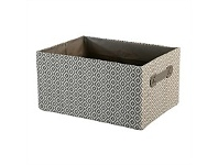 Briscoes NZ Chieti Storage Box Grey Large