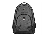 Briscoes NZ High Sierra Oxford Laptop Backpack Grey/Black