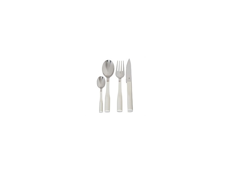 Volere L'e Starck White Cutlery Set 24pc