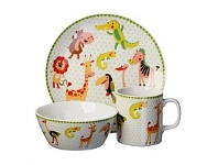 Briscoes NZ Volere My First Dinnerware Jungle 3pc