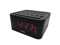 Briscoes NZ Teac Dual Alarm FM Radio/Bluetooth/USB Clock Radio CRX512BU