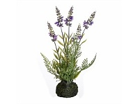 Briscoes NZ Artifical Lavender Plant in Stone Planter
