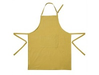 Briscoes NZ HM Plain Dyed Apron Mustard