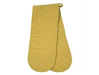 Briscoes NZ HM Plain Dyed Double Oven Glove Mustard