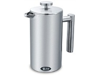 Briscoes NZ Zip Pinnacle 800ml Stainless Steel Double Wall Plunger