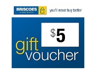 Briscoes NZ $5 Gift Voucher