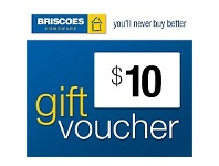 Briscoes NZ $10 Gift Voucher