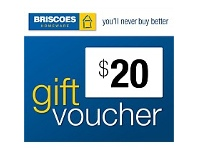 Briscoes NZ $20 Gift Voucher