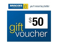 Briscoes NZ $50 Gift Voucher