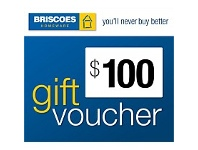 Briscoes NZ $100 Gift Voucher