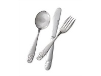 Briscoes NZ Volere Kids Bear 3 Piece cutlery set