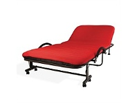 Briscoes NZ Folding Bed Red Single