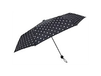 Briscoes NZ Peros Ladies Umbrella Polka Dots Black