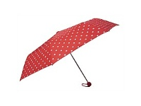 Briscoes NZ Peros Ladies Umbrella Polka Dots Red