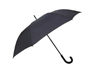 Briscoes NZ Mens Dapper Black Umbrella
