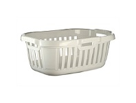 Briscoes NZ Tontarelli Hipster Laundry Basket White